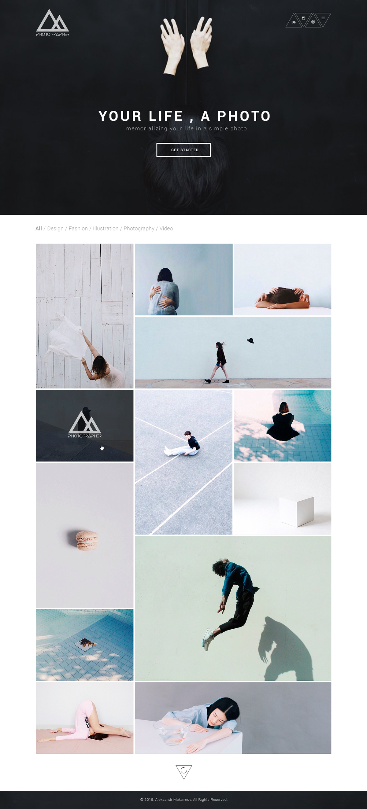 Photographer Portfolio Template