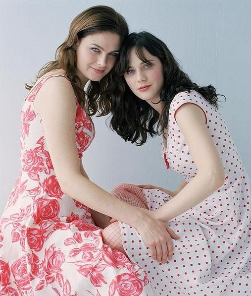 Zooey & Emily Deschanel. Absolutely love these actresses and their shows.