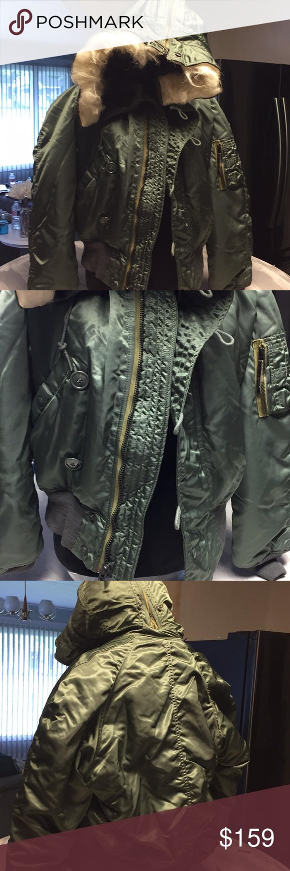 Military Hooded Flightline Jacket Military Flightline