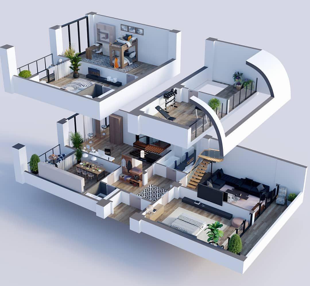 Amazing architecture on instagram  cyes or no floorplan  by stgi  also rh ar pinterest