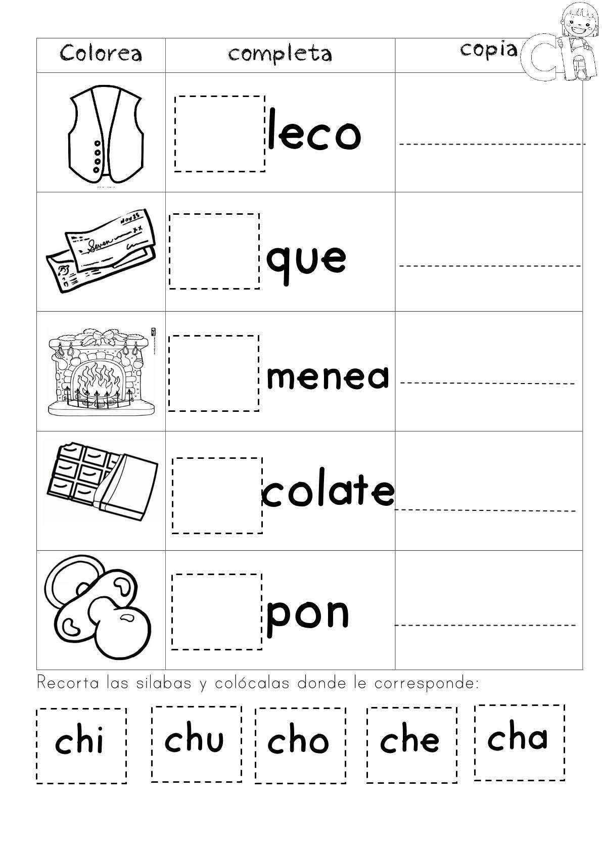 Mi Cuadernillo De Silabas Ie Pagina 14