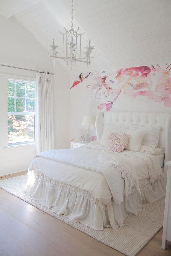 White bedroom paint color White bedroom paint color is Benjamin