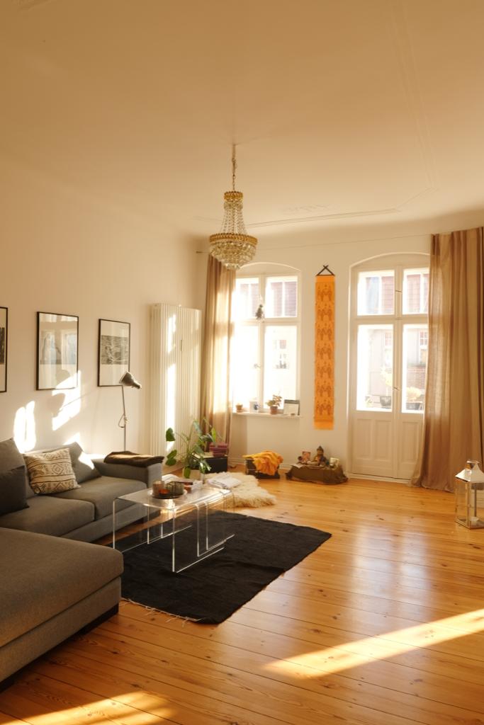 Wunderschones Altbauwohnzimmer In Berlin Wohnung Haus Und Wohnen Altbauwohnung