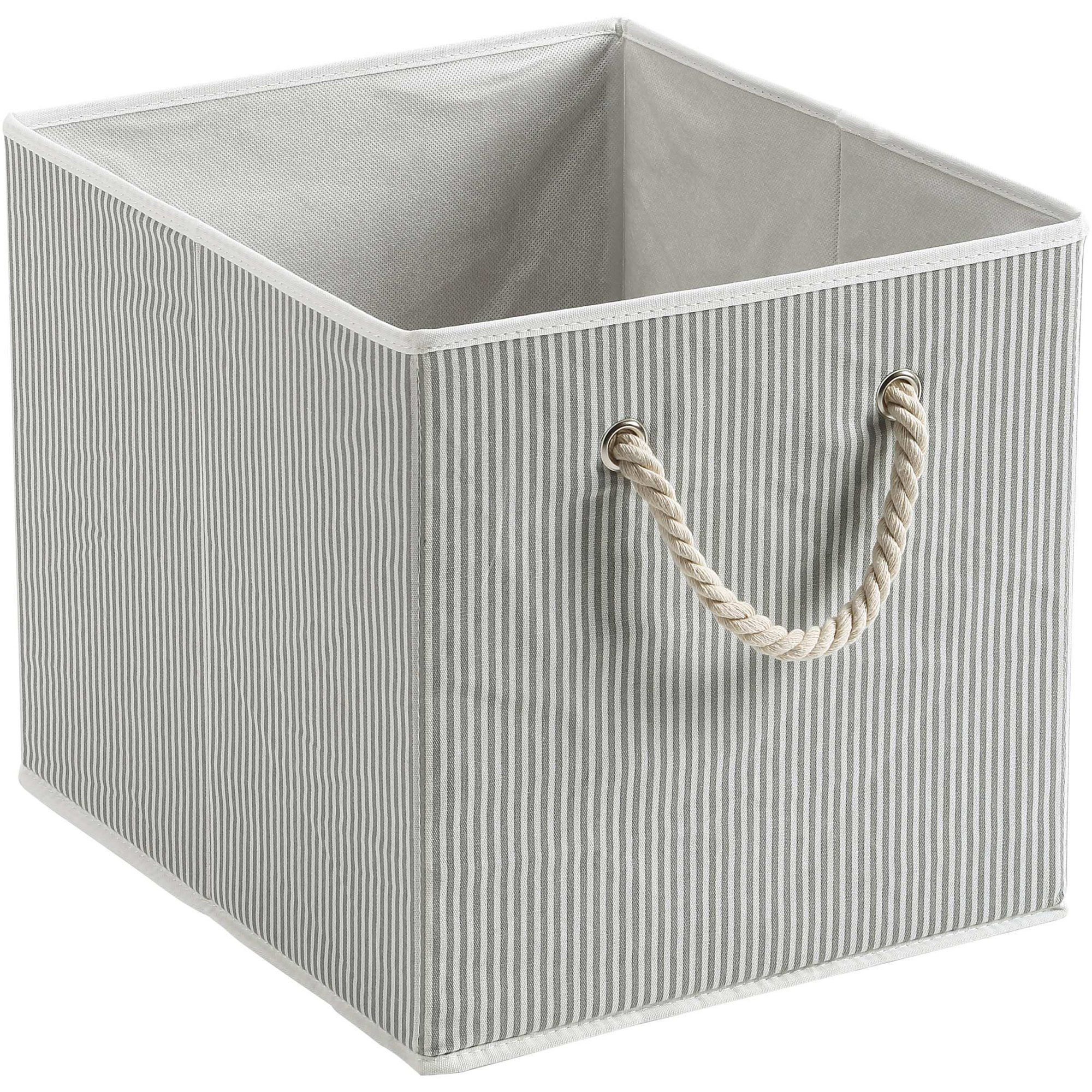 Better Homes And Gardens Fabric Storage Bin Gray