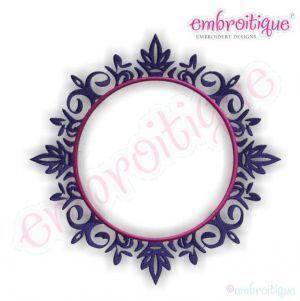 Font Frames - Chadwick Embroidery Monogram Font Frame on sale now at Embroitique!