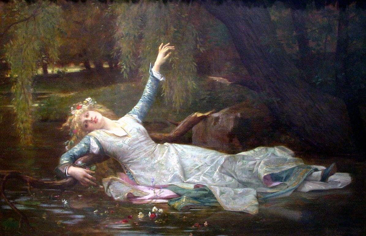 Alexandre Cabanel, Ophelia, 1883