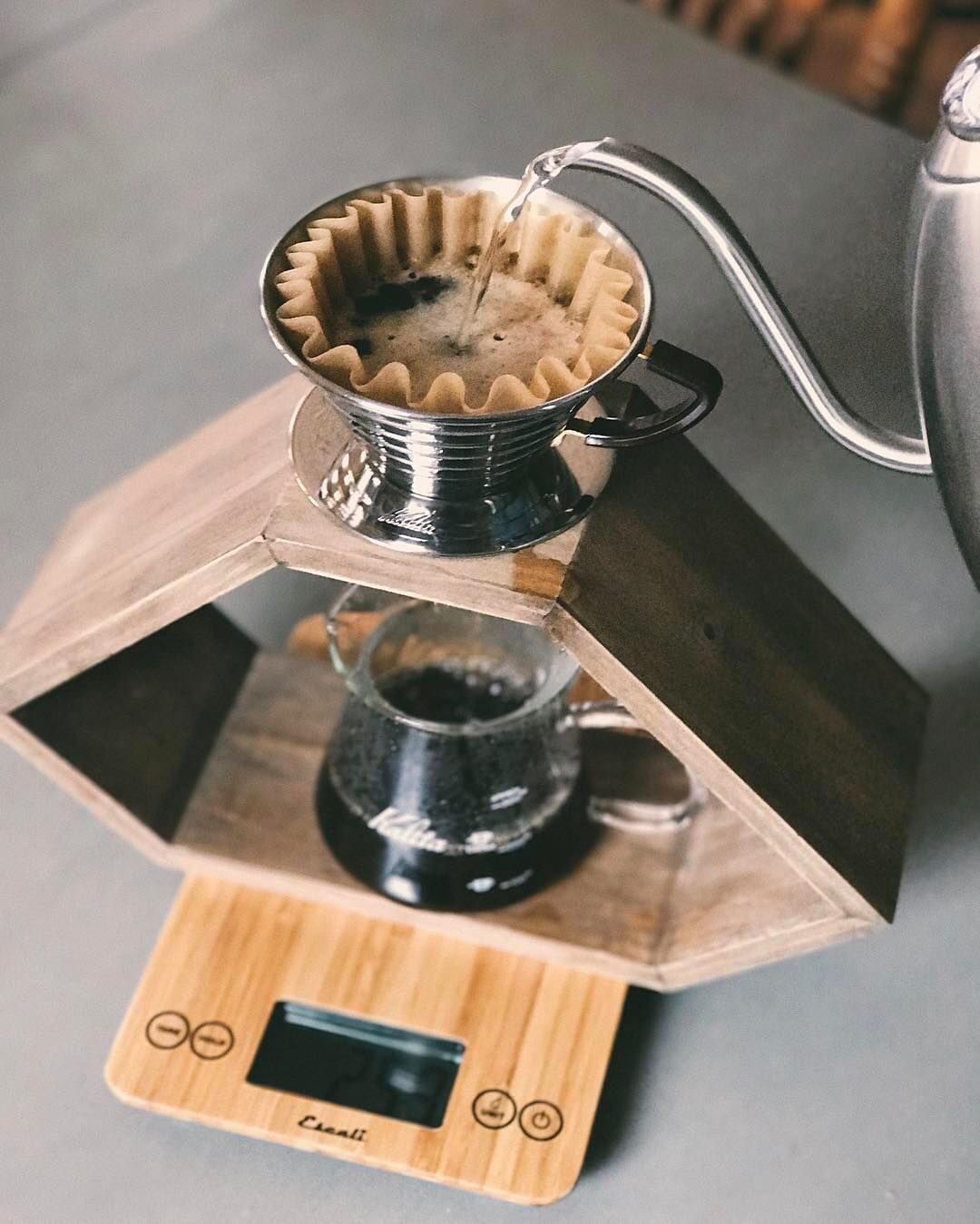 how to manual brew coffee