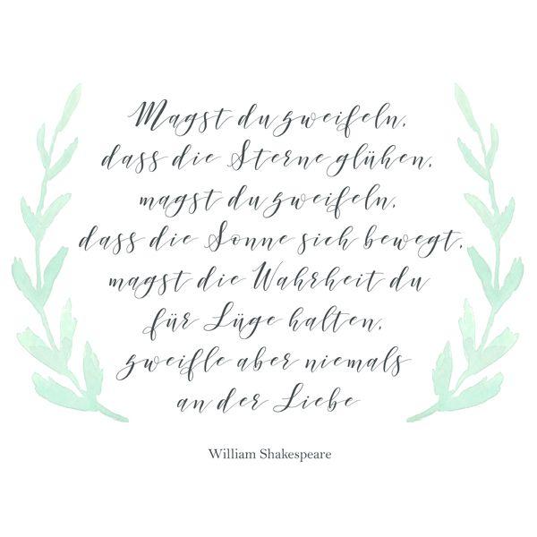 Shakespeare Zitate Deutsch Liebe Zitate Und Sprüche Von