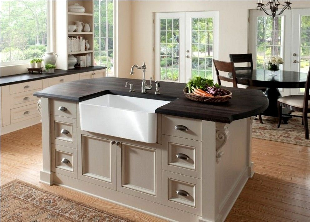 037 Kitchen Island With Sink And Storage Or Dishwasher