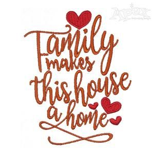 Family Makes this House a Home Embroidery Design | machine ... on word art wedding, word art crochet, word art rubber stamps, word art t shirts, word art cross stitch, word art sewing, word art jewelry, word art appliques, word art home, word art buttons, word art drawing designs, word art printables, word art flowers, word art gifts, buffalo designs, word art embroidery software, word whim, word art craft,