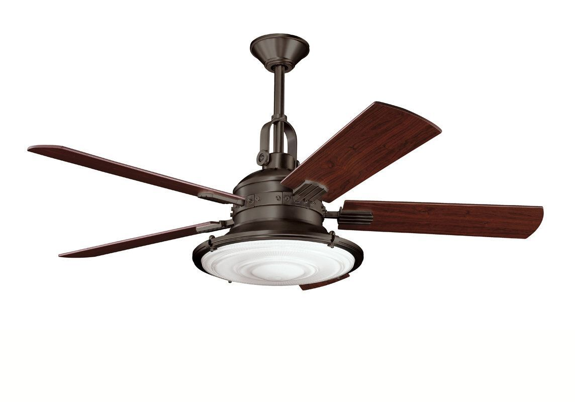 Kichler Kittery Point Bronze Ceiling Fan Ceiling Fan Antique
