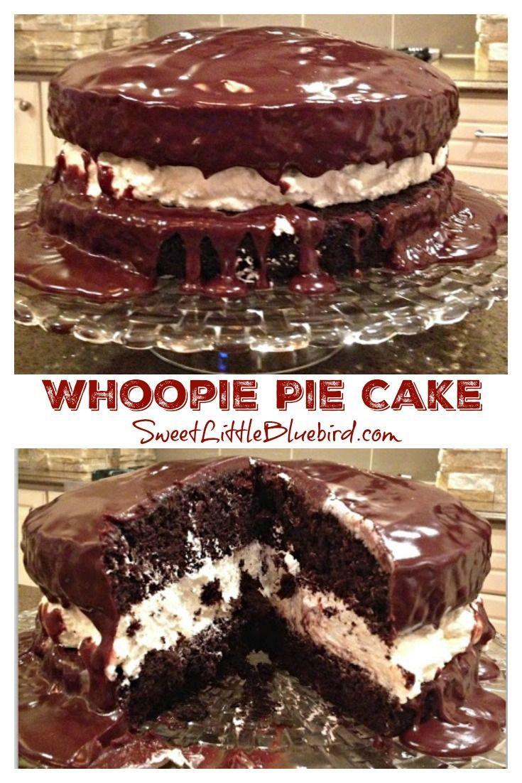 Decadent whoopie pie cake decadent chocolate cake