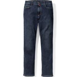 Photo of Walbusch Herren Bügelfrei Flex Jeans Modern Fit Modern Fit einfarbig Dark Blue Walbusch