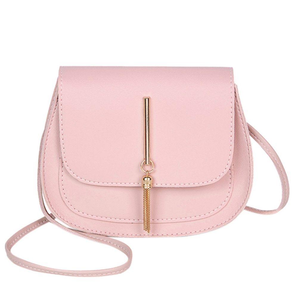 Women's Ladies Girls Cross Body Satchel Handbag Tote Shoulder Side Bags Purse
