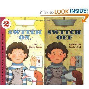 Switch On, Switch Off (Lets-Read-and-Find-Out Science 2): Melvin Berger, Carolyn Croll: 9780064450973: Amazon.com: Books