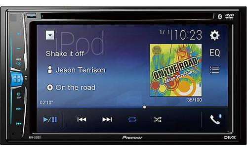 Pioneer AVH-211EX DVD receiver | Products | Touch screen car