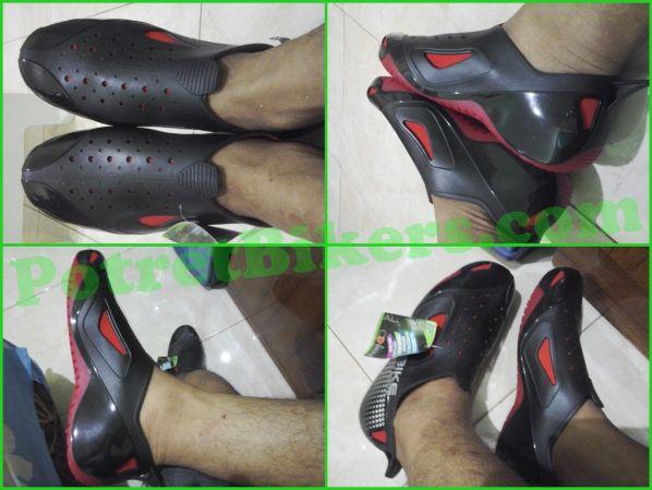 Unboxing Ap Boot All Bike Sepatu Amfibi Siap Buat Hujan Hujanan Dan Jalan Jalan Otobeken Sepatu Hujan Amfibi