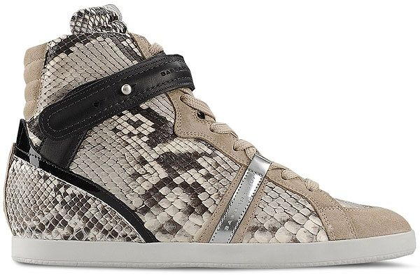 buy cheap clearance store outlet collections Barbara Bui Snakeskin High-Top Sneakers y6oaQdR