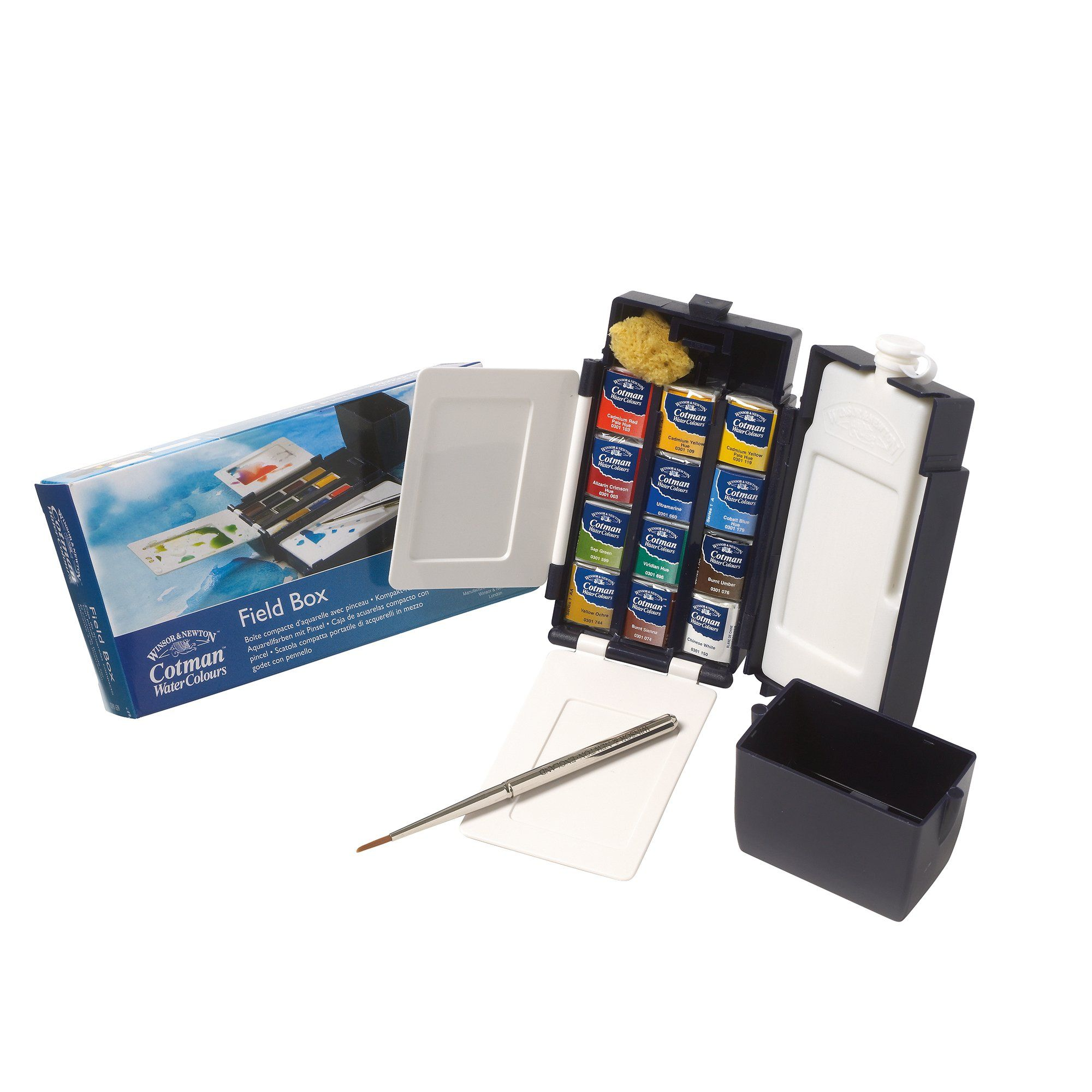 Amazon Com Winsor Newton Cotman Water Color Field Box Set Of