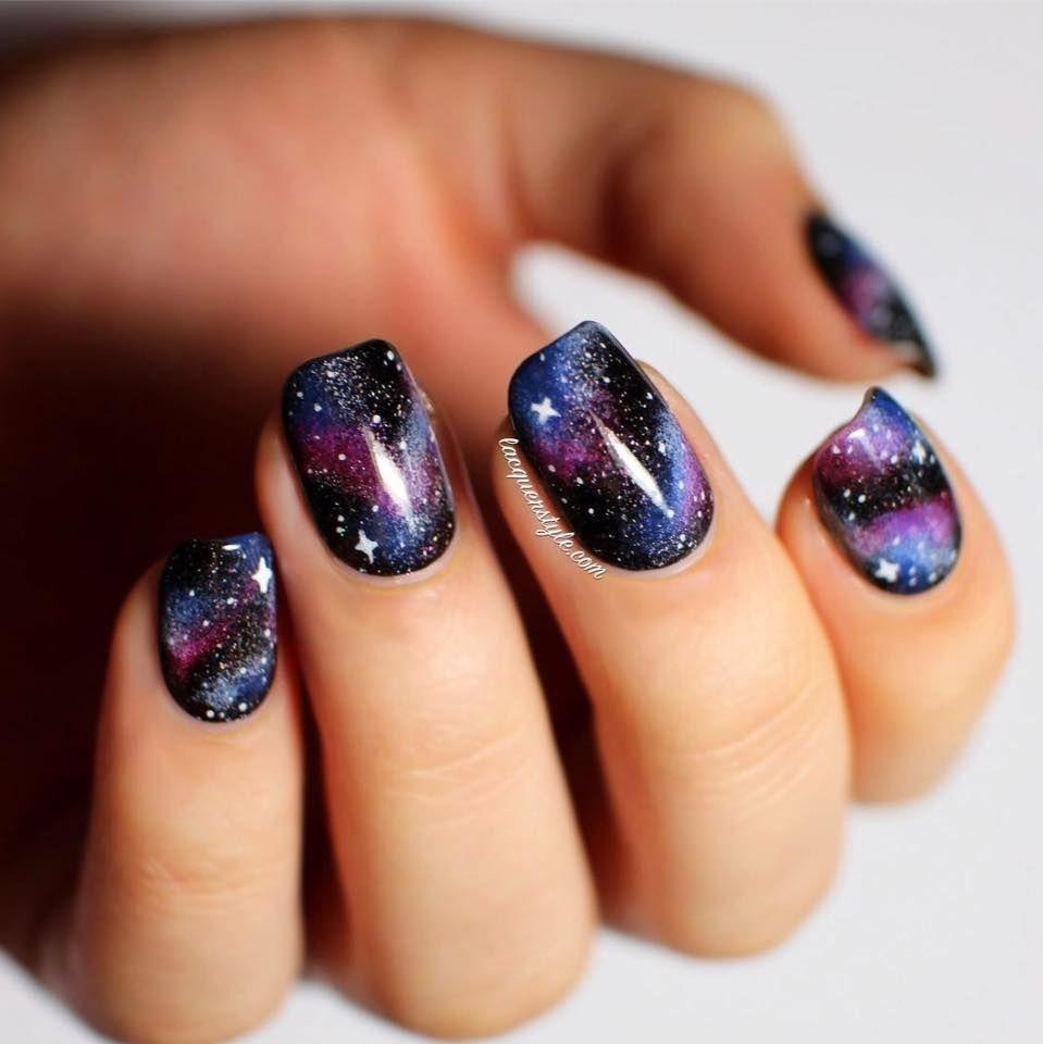Galaxy Nails | Trending Nail Designs | Pinterest | Galaxy nail and ...