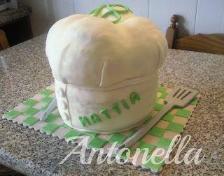 Cappello da cuoco per i 18 anni di Mattia