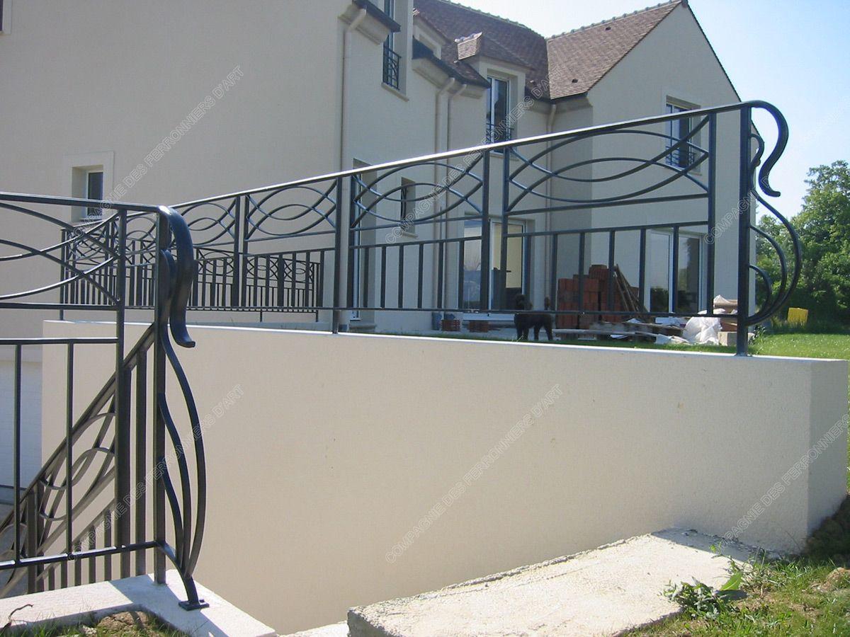 Barriere Terrasse Fer