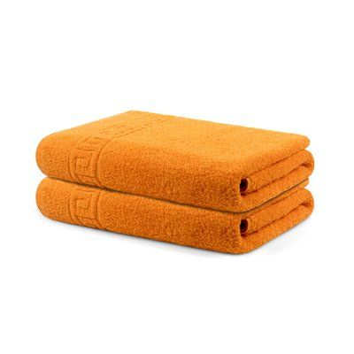 Winston Porter Kroh Solid 100 Cotton Bath Towel Luxury Towels