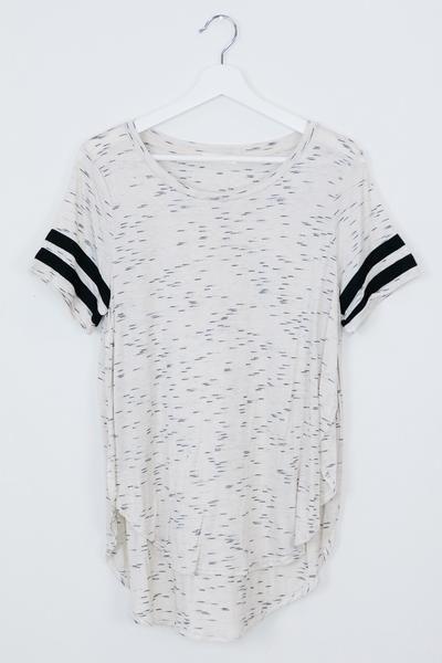 Eden Sporty Cream T-Shirt - Shop AOF Top - 1