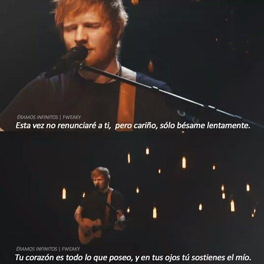 Ed Sheeran Letras De Canciones De Amor Letras De