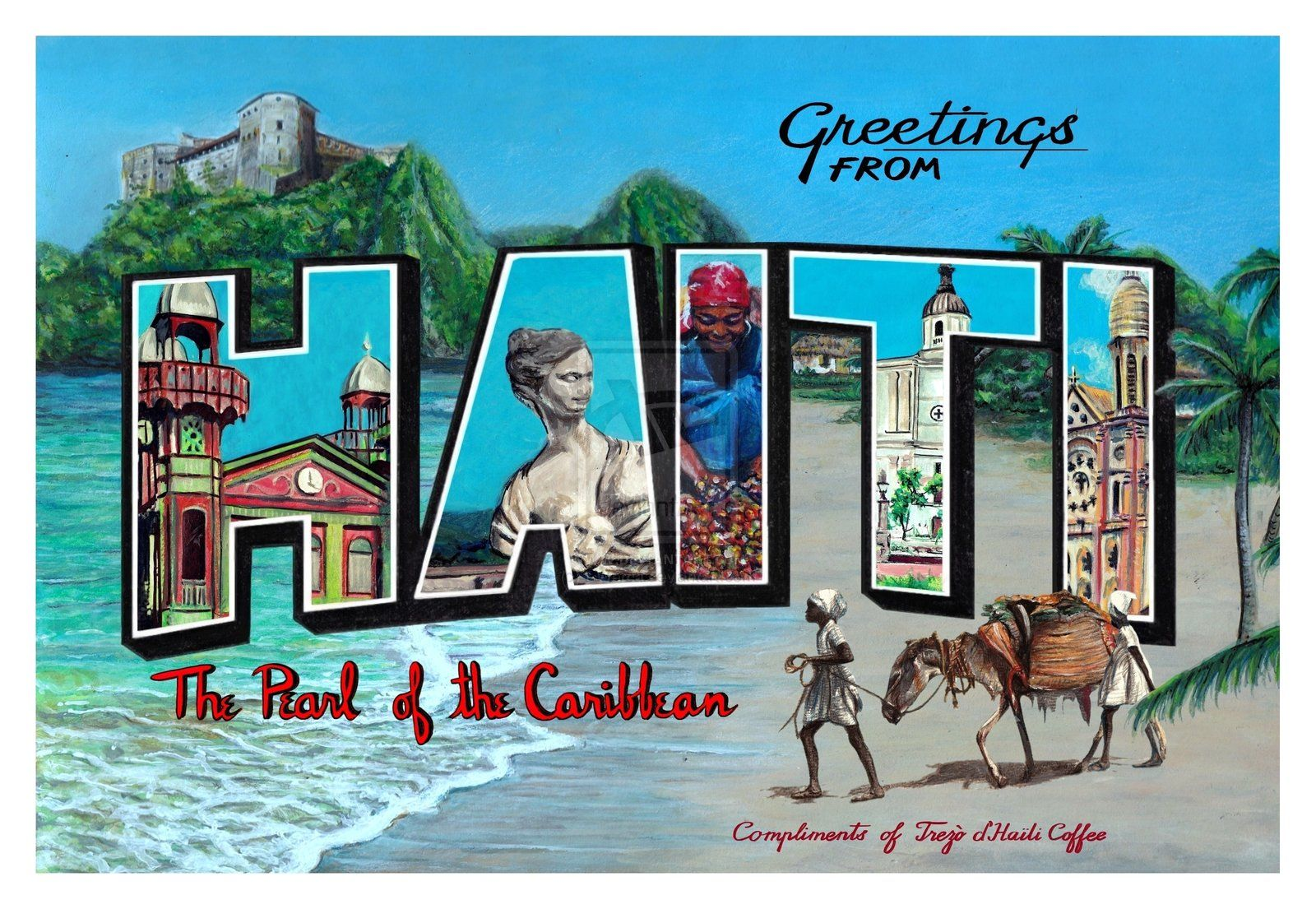 Images For Greetings From Postcard Font Travel Posters