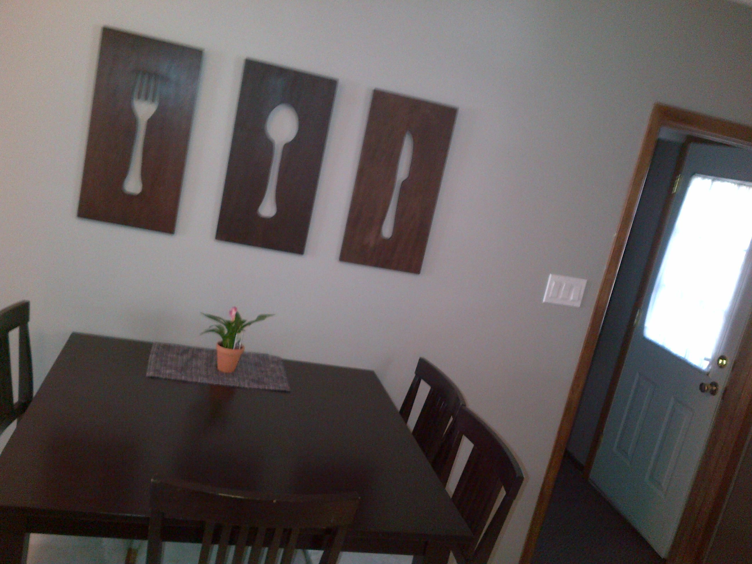 Fork Spoon Knife Wall Decor Diy Decor Wall Decor Decor