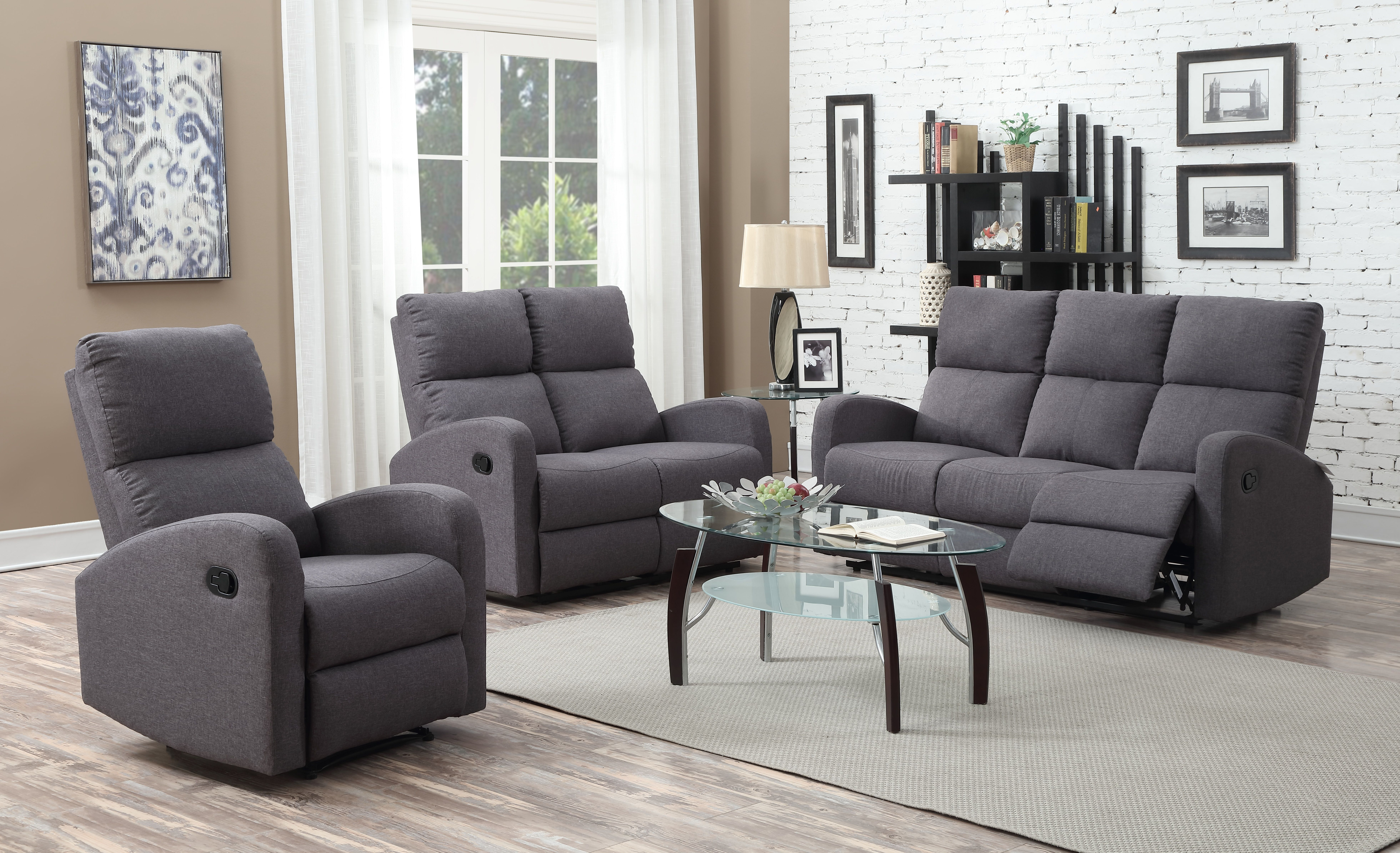 K Living Maya Reclining Sofa Set This Sofa Set Will Be The Perfect Addition To Any Entertainment Area The Maya Reclin Sofa Suites Reclining Sofa Furniture Uk