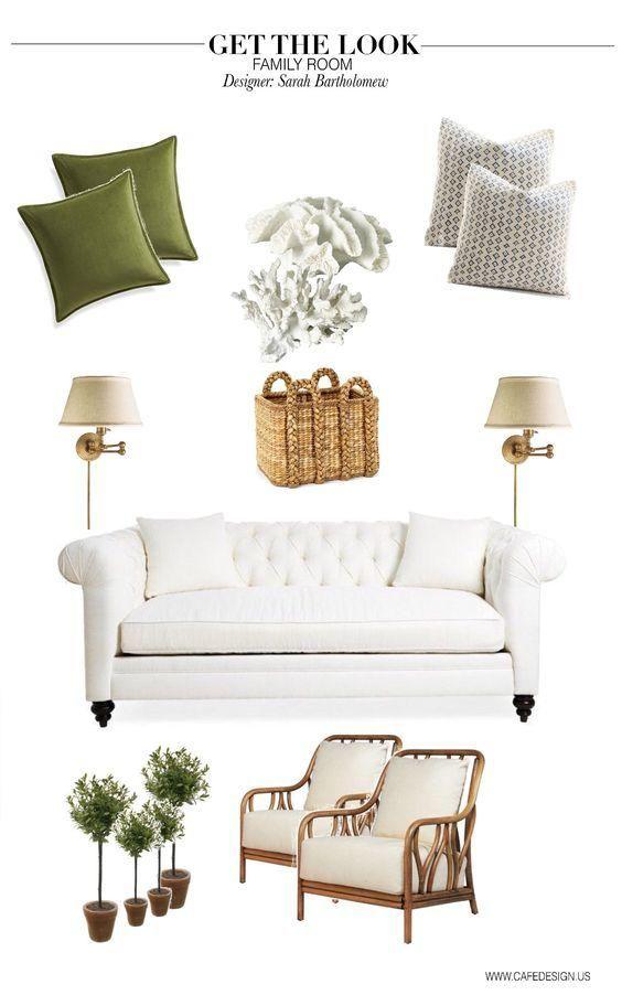 Café Design | Anatomy Of A Perfect Family Room   Sarah Bartholomew