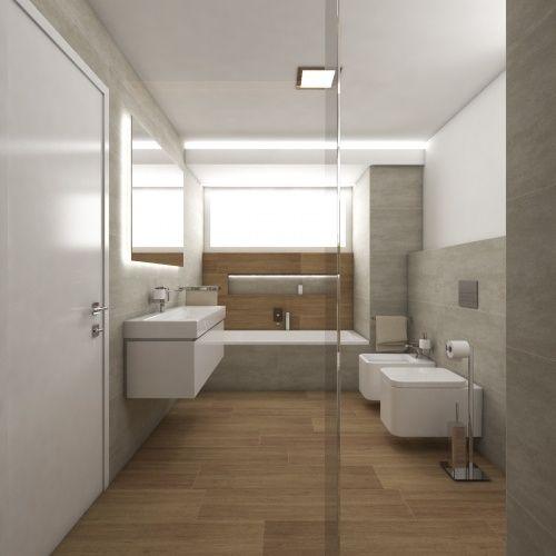 Moderní koupelna STANTON - Přímý pohled ze sprchového koutu   on ns design, dj design, dy design, l.a. design, setzer design, er design, berserk design, blue sky design, color design, pi design,