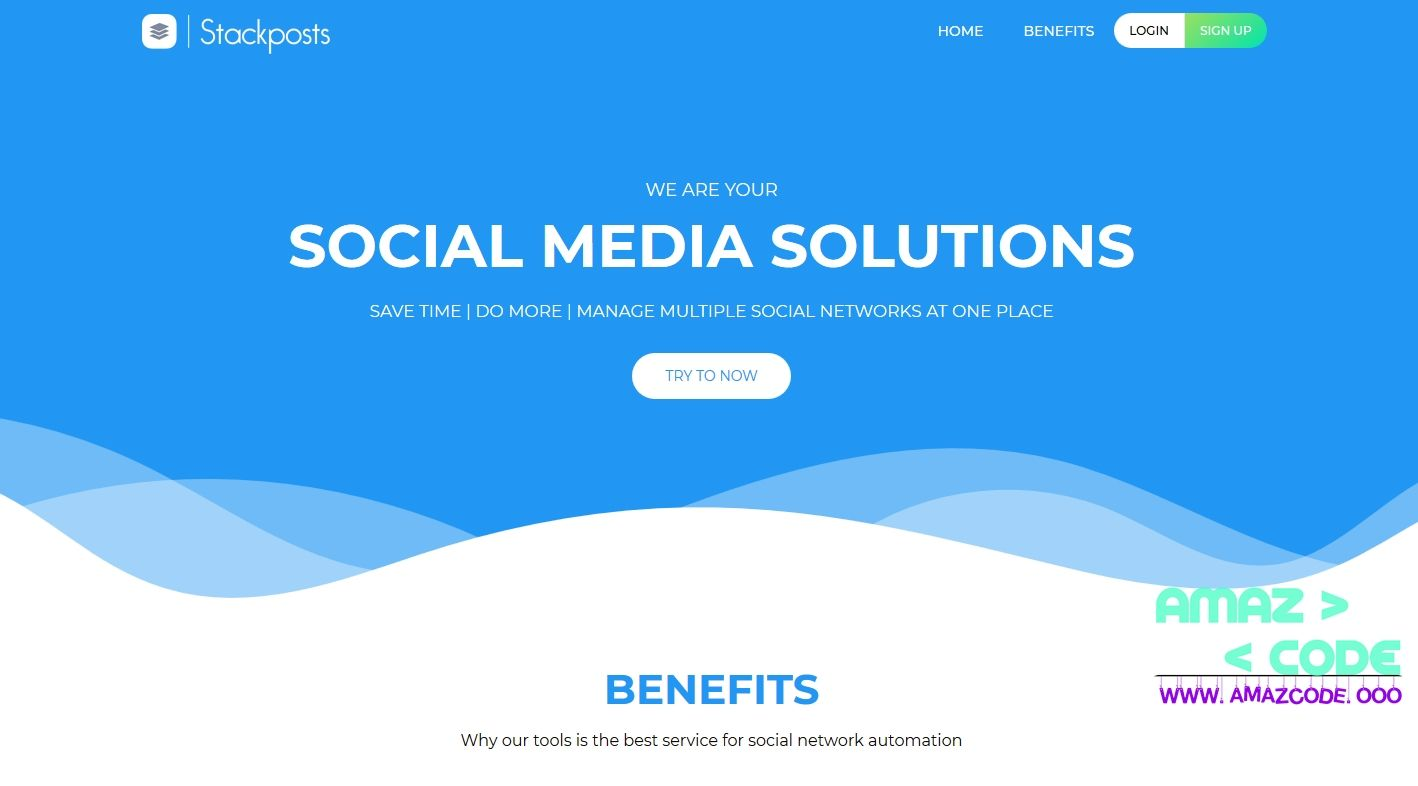 Stackposts V1 5 Fully Nulled Social Marketing Tool Social Marketing Tools Social Marketing Instagram Posting Schedule