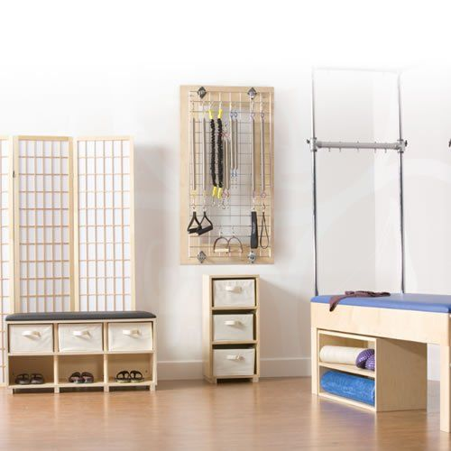 Genial Space Saving Studio Furniture   Trapeze Table Storage | Pilates Equipment