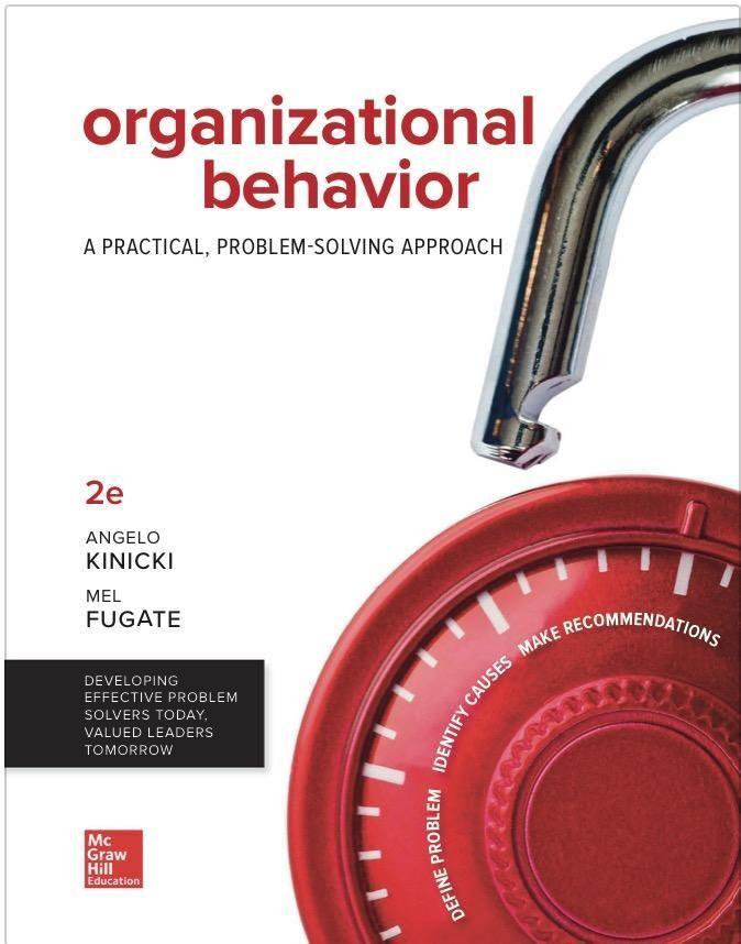 Organizational behavior a practical problem solving approach 2nd organizational behavior a practical problem solving approach 2nd edition textbook pdf 1999 immediate fandeluxe Images