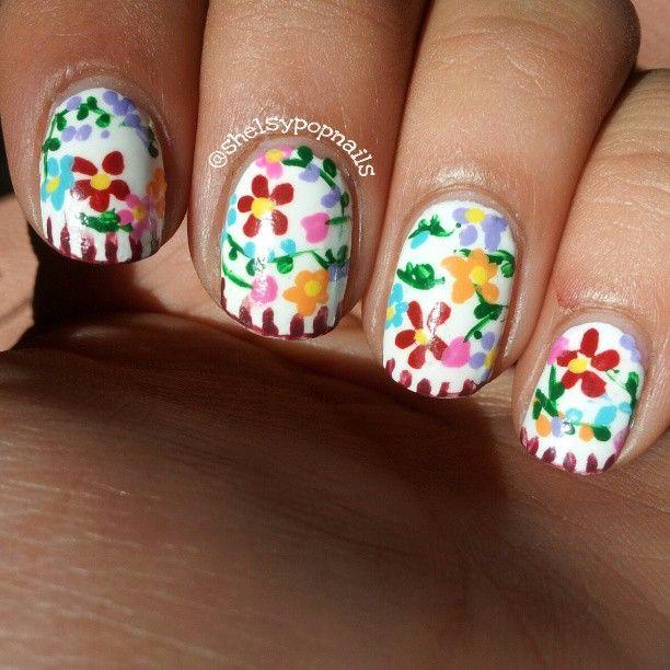 Shelsy.   lovely nail art   Pinterest   Uñas patrias, Diseños de ...