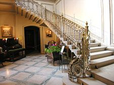 Silver Staircase Manderston Duns Scotland Staircase Stairs House