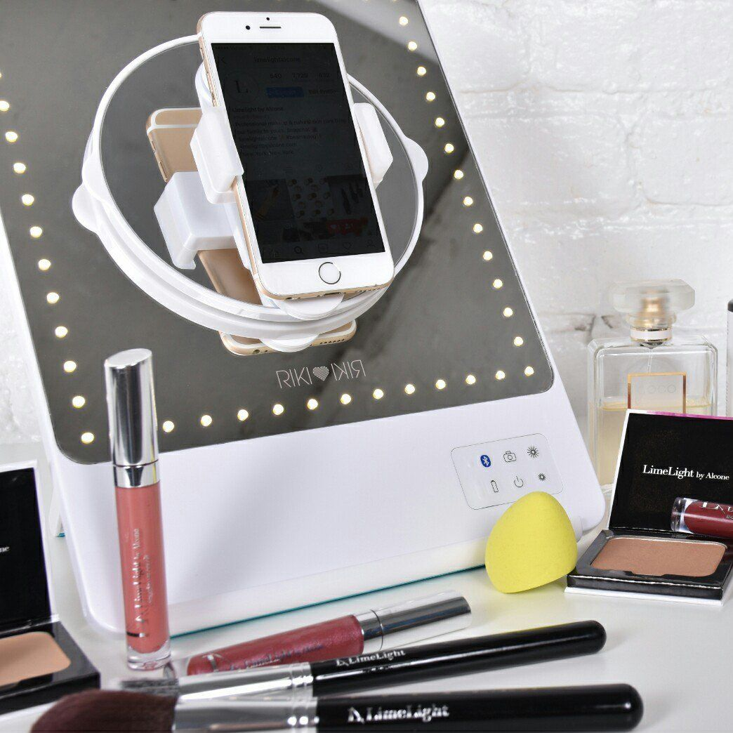 RIKI SKINNY Bluetooth Selfie Makeup Mirror Riki mirror