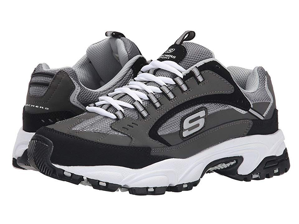 Details about Skechers Womens Ladies Stamina Lace Up Sneakers Trainers Casual Sports Shoes