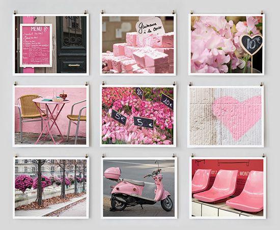 Paris in pink :) Pure Living* Interiors: I'm SO in love with ... Paris