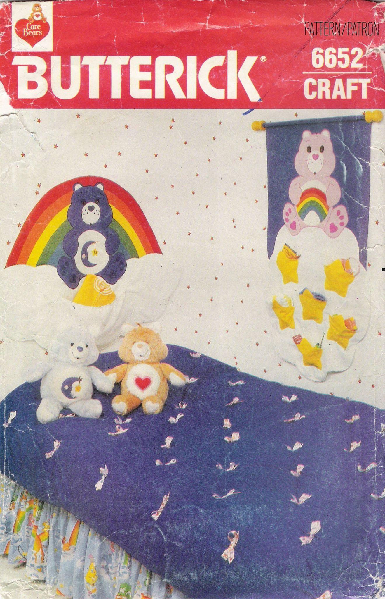 Butterick 6652 Care Bear Room Decoration Essentials