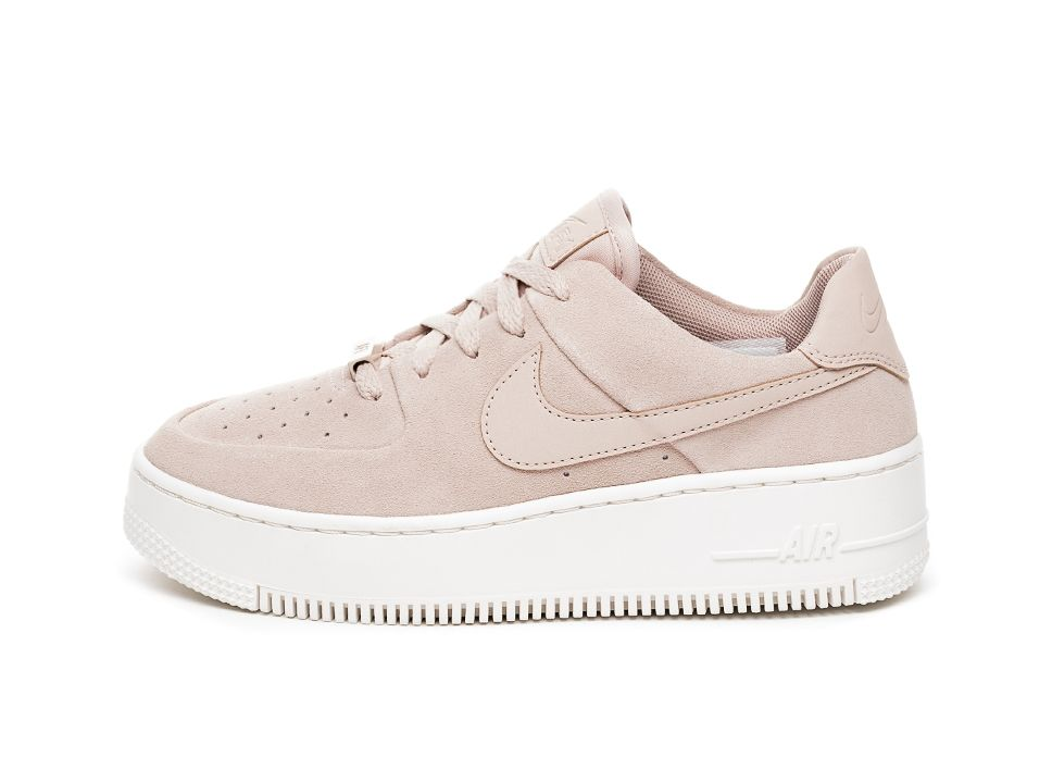 Nike Wmns Air Force 1 Sage Low (Particle Beige Particle