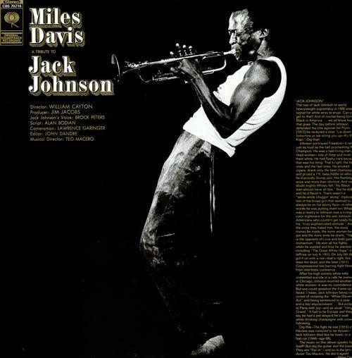 Miles Davis Jack Johnson Columbia 1971