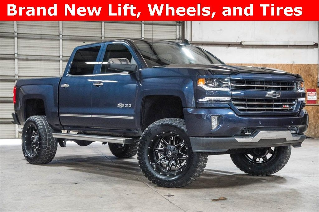 Available Online Lifted 2018 Chevrolet Silverado 1500 4x4 Crew Cab