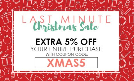 Last Minute Christmas Sale from NYFifth