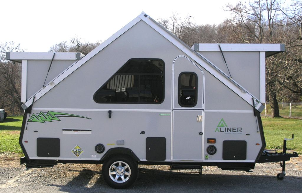 Pop Up Camper Is Like An A Frame On Wheels A Frame Camper Small