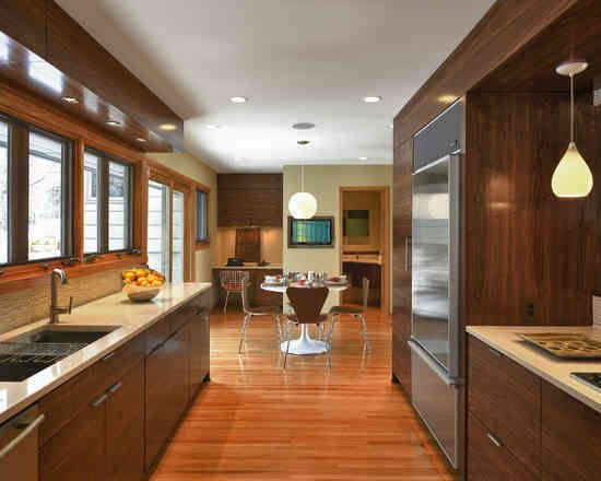 Best Small Galley Kitchen Extending Into Dining Room Would 400 x 300