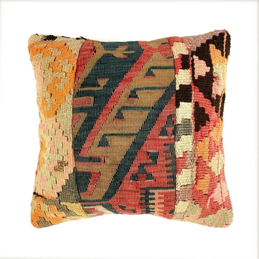 Einzigartige Kelim Kissen Turkish Kilim Pillow 16 16 Pillow
